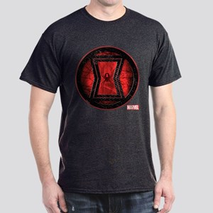 Black Widow Grunge Icon Dark T-Shirt
