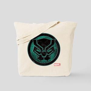 Black Panther Grunge Icon Tote Bag