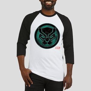 Black Panther Grunge Icon Baseball Jersey