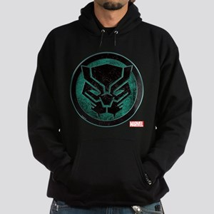 Black Panther Grunge Icon Hoodie (dark)