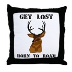 What the Buck Throw Pillow
