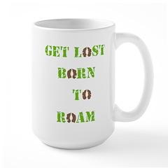 Born To Roam Hoof Tracks Mugs