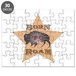 Bison Star Puzzle