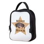 Bison Star Neoprene Lunch Bag
