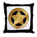 Roam Ranger Bison Throw Pillow