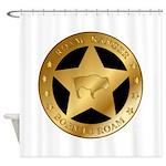Roam Ranger Bison Shower Curtain