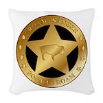 Roam Ranger Bison Woven Throw Pillow