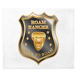 Born To Roam Roam Ranger Bison Head King Duvet