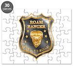 Born To Roam Roam Ranger Bison Head Puzzle