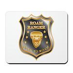 Born To Roam Roam Ranger Bison Head Mousepad