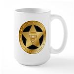 Born To Roam Ranger Star Black Mugs