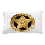 Born To Roam Ranger Star Black Pillow Case