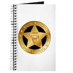 Born To Roam Ranger Star Black Journal