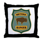 Ranger Patch Throw Pillow