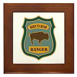 Ranger Patch Framed Tile