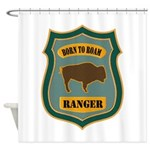 Ranger Patch Shower Curtain