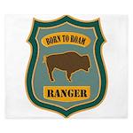 Ranger Patch King Duvet