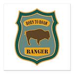 Ranger Patch Square Car Magnet 3