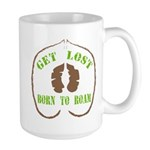 Get Lost Logo Distressed Mugs