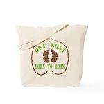 Get Lost Logo Distressed Tote Bag