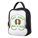 Get Lost Logo Distressed Neoprene Lunch Bag