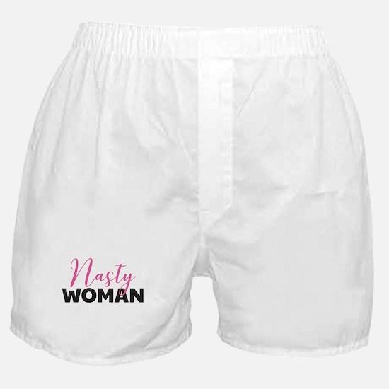 Clinton - Nasty Woman Boxer Shorts