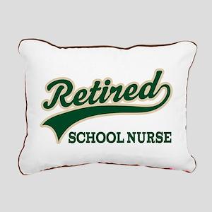 Retired School Nurse Rectangular Canvas Pillow