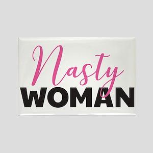 Clinton - Nasty Woman Rectangle Magnet