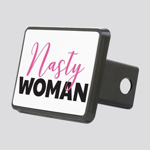 Clinton - Nasty Woman Rectangular Hitch Cover