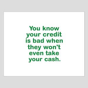 Bad Credit Posters