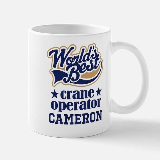 Crane Operator Personalized Gift Mugs