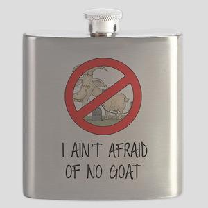 I Ain't Afraid of No Goats - Cubs 2016 Flask