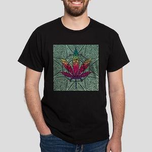 Marijuana Leaf Dark T-Shirt