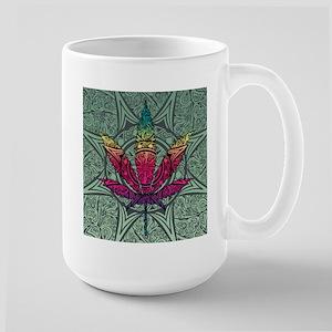Marijuana Leaf Large Mug