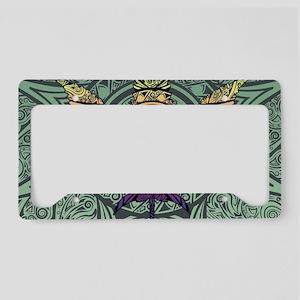 Marijuana Leaf License Plate Holder