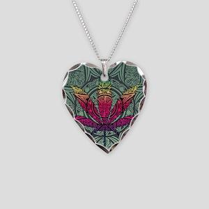 Marijuana Leaf Necklace Heart Charm
