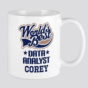 Data Analyst Personalized Gift Mugs
