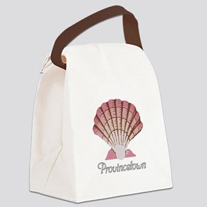 Provincetown Shell Canvas Lunch Bag