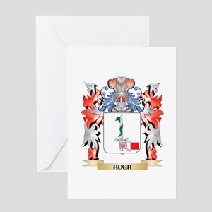 Hugh Coat of Arms - Family Crest Greeting Cards