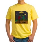 Zombie Fitness Yellow T-Shirt