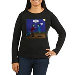 Zombie Fitness Women's Long Sleeve Dark T-Shirt