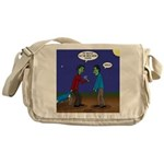 Zombie Fitness Messenger Bag