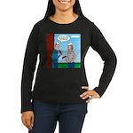 House Painting Women's Long Sleeve Dark T-Shirt
