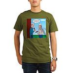 House Painting Organic Men's T-Shirt (dark)