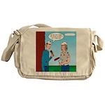 House Painting Messenger Bag