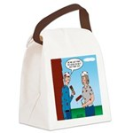 House Painting Canvas Lunch Bag