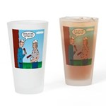 House Painting Drinking Glass