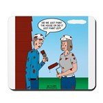 House Painting Mousepad