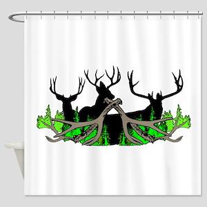 Deer shed 3 Shower Curtain