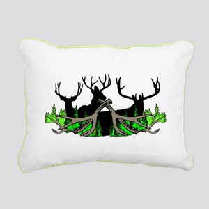 Deer shed 3 Rectangular Canvas Pillow